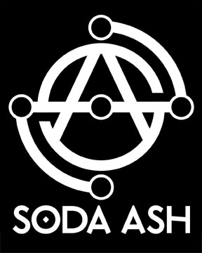 Soda Ash logo sticker